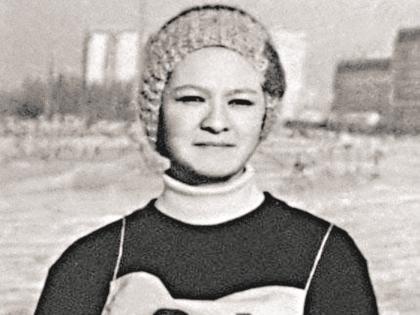 Ирина Хакамада в молодости