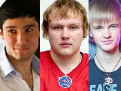 Руслан Шамсуаров, Антон Иванюженков и Илья Переверзев
