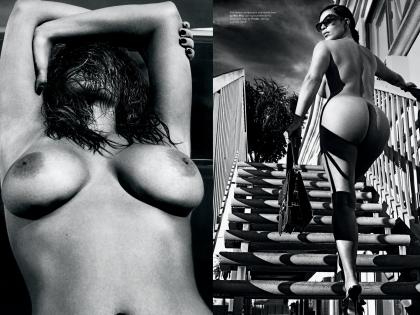 Ким Кардашьян для LOVE magazine