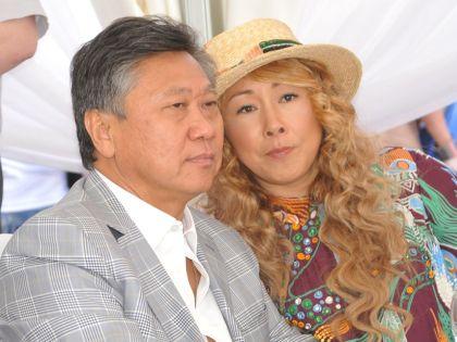 Сергей и Анита Цой