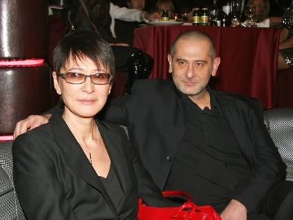 Хакамада с мужем Владимиром Сиротинским