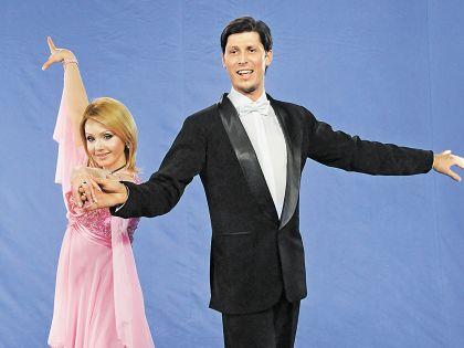 В шоу «Танцы со звездами» Ирина держалась почти профессионально