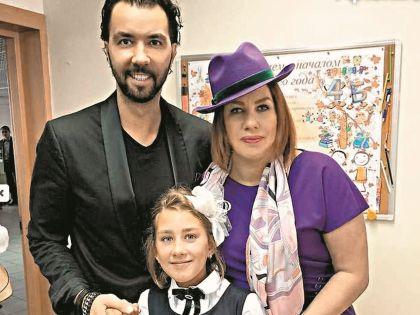 Сын Олейникова выложил в своем инстаграме фото с Евой Польной и их внебрачной дочерью Эвелин