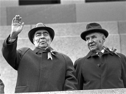 Леонид Брежнев и Алексей Косыгин