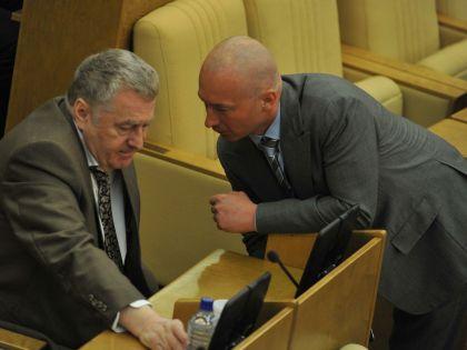 Владимир Жириновский и Игорь Лебедев