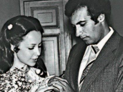 Свадьба композитора и его первой жены Елены
