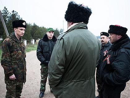 Казак в Крыму