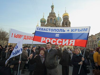 Итальянский журнал обозначил на карте мира Крым как часть России