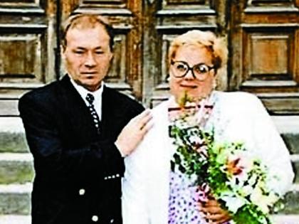 После венчания с супругой Ириной