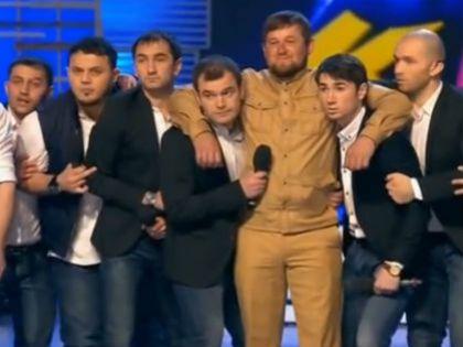 Сборная КВН Чечни и Рамзан Кадыров
