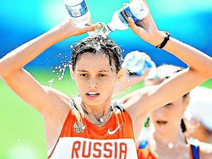Олимпийская чемпионка Елена Лашманова