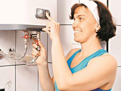 Газовый нагреватель можно установить только в газифицированных квартирах