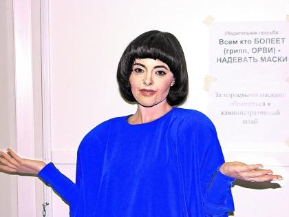 Максимовой не удался образ Мирей Матье