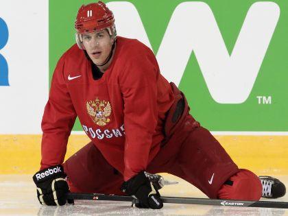 Евгений Малкин все равно врется в бой
