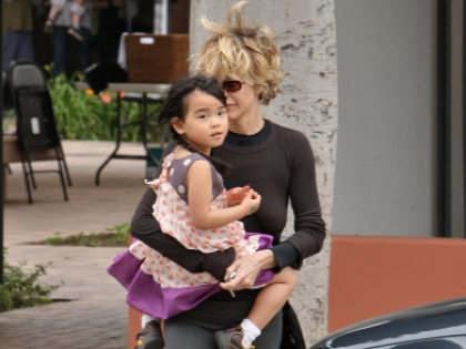 Мэг Райан с дочерью