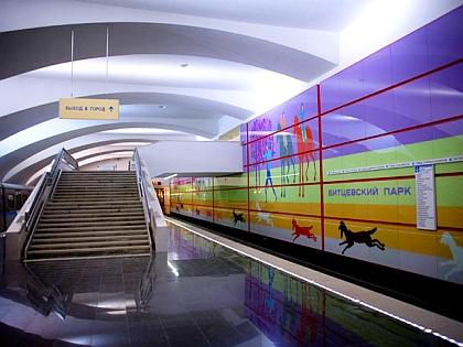 """Станция метро """"Битцевский парк"""