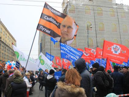 Шествие проигнорировали коммунисты
