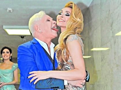 Борис Моисеев и Анжелика Агурбаш