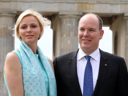 Шарлен Уиттсток и Альбер II