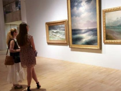 На выставку Айвазовского в Третьяковку не смогут попасть все желающие