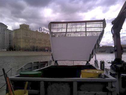 Ковш судна-мусоросборщика МС-3