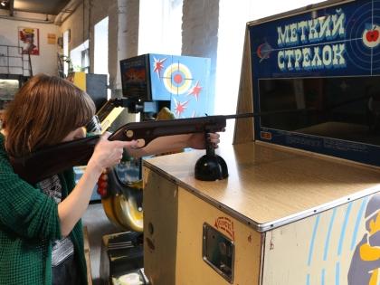 Вход в Музей советских игровых автоматов стоит 350 рублей
