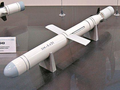 Крылатые ракеты «Калибр». Концерн ВКО «Алмаз-Антей»