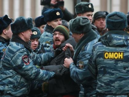 Задержание оппозиционера