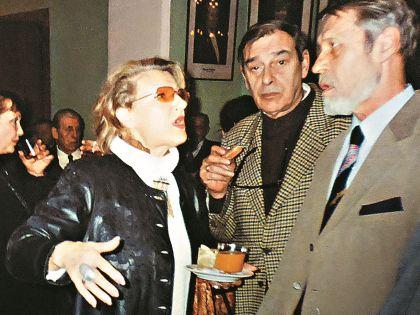 Режиссер Светлана Дружинина и Георгий Мартынюк (справа)