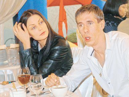 Алексей Панин с бывшей супругой
