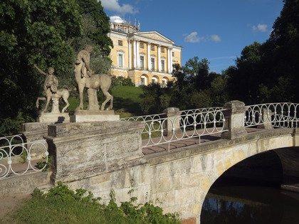 Мост кентавров и главный дворец