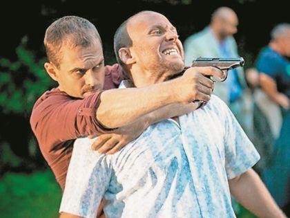 В «Перевозчике» Комашко сыграл вместе с Денисом Рожковым, который запомнился многим по роли Дена в сериале «Глухарь»