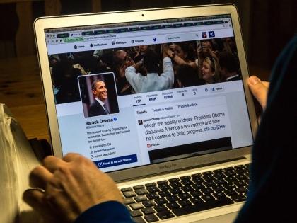 У президента США также есть официальный микроблог @BarackObama, который ведут его помощники