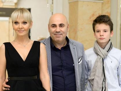 Валерия и Пригожин с сыном
