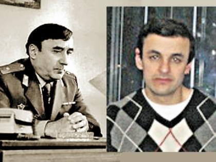 Степан Пучинян и его сын Филипп