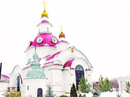 Храм Путина в селе Отрадное Воронежской области