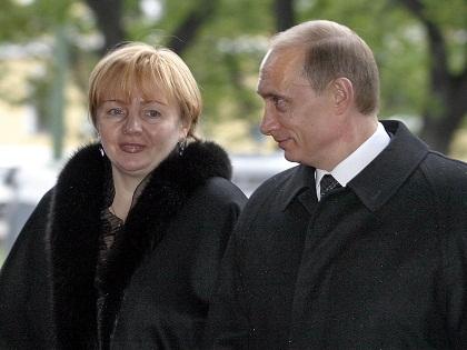 Владимир и Людмила Путины прожили в браке около 30 лет