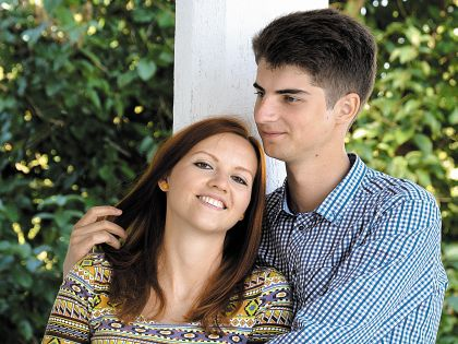 Пётр Цеханович и его супруга Анна