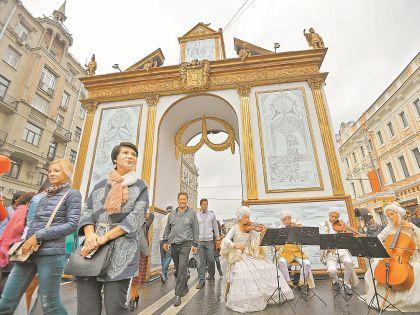 Тверская улица Москвы превратилась в триумфальную