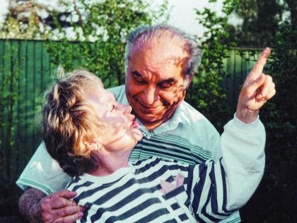 Надежда Румянцева с мужем Вилли Хштояном