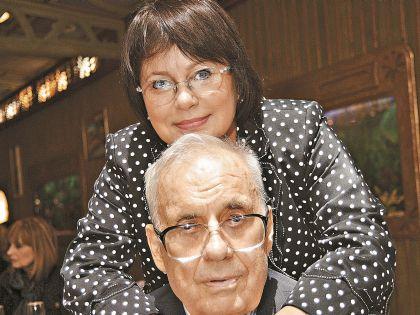 Эльдар Рязанов со своей дочерью Ольгой