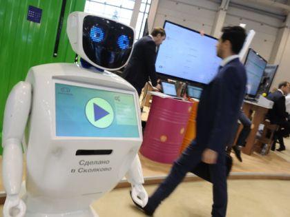 Робот, созданный фондом «Сколково»