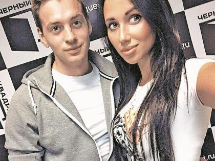 Соколовский со своей девушкой Ульяной