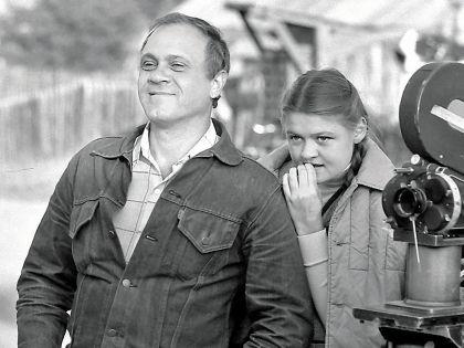 Владимир Меньшов с дочерью Юлией