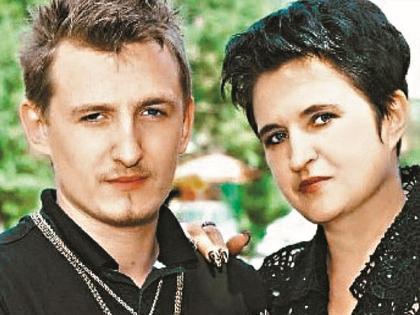 Влад Кадони со своей мамой