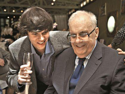 Эльдар Рязанов с внуком Дмитрием