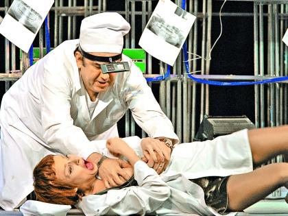 Когда актриса падала в обморок, Садальский выносил ее на руках