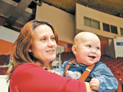Многодетная мама с Тимофеем