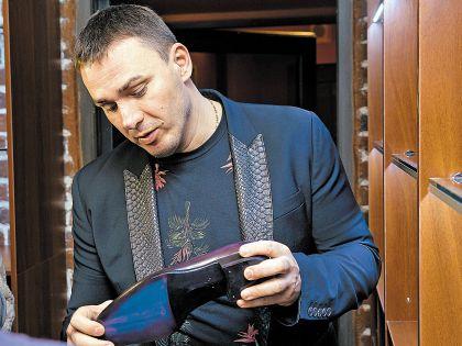 Кирилл Андреев из «Иванушек»