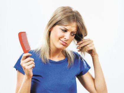 Неправильное питание может быть причиной выпадения волос